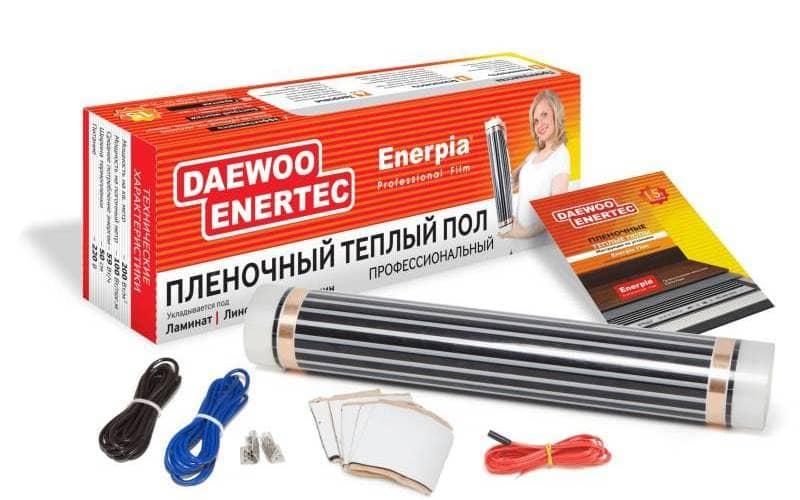 электрический теплый пол комплект поставки