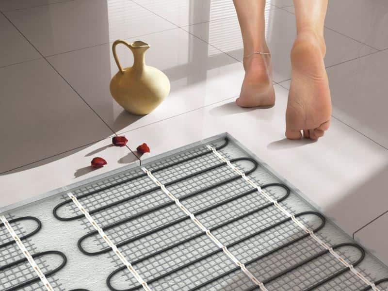 Преимущества электрического теплого пола