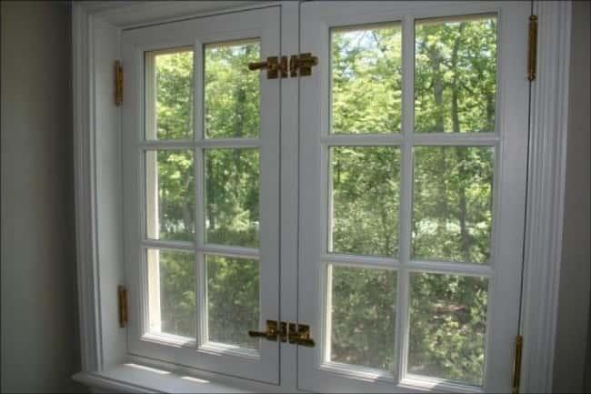 деревянные окна после реставрации