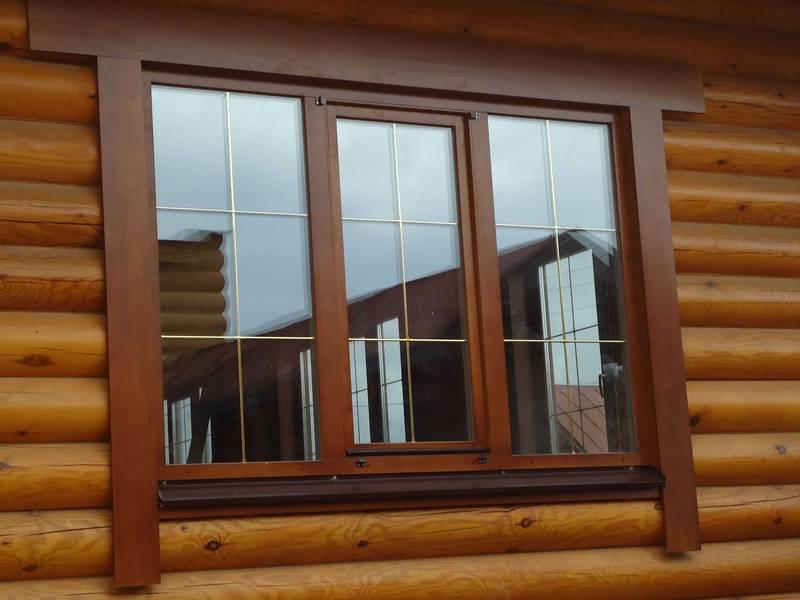 Деревянные евроокна - лучшее решение для деревянного дома