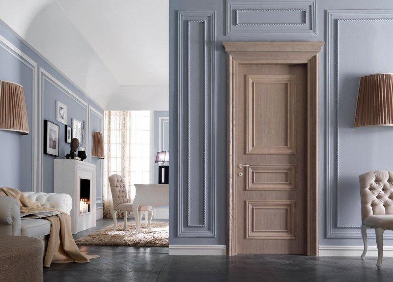 межкомнатные двери в классической стиле