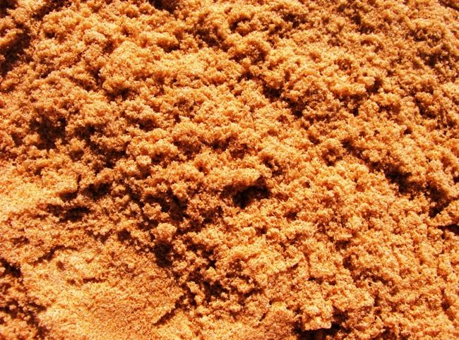 Разновидности строительного песка