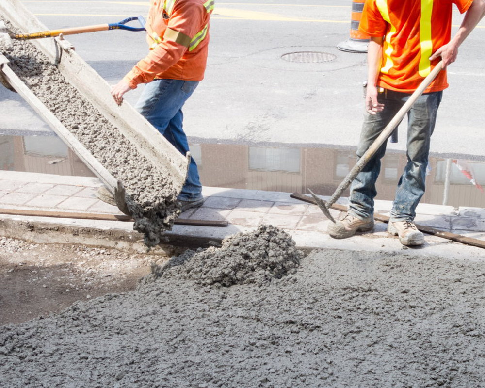 Какой бетон выбрать для фундамента: различия между марками, пример расчета бетонной смеси