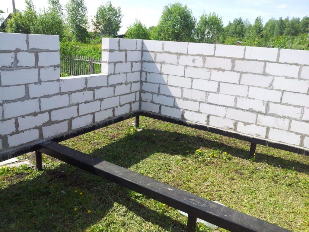 Как построить дом из пенобетона